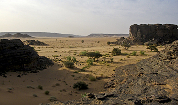 Algeria, Hoggar Mountains