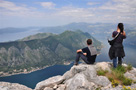 Montenegro - Boka Kotorska from Pestingrad ridge