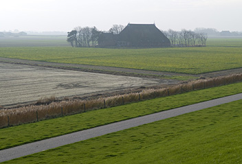 Start of the trail, near the Zwarte Haan
