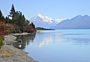 Mt Cook and Lake Pukaki - by Chris